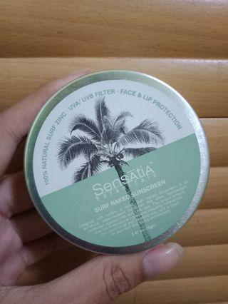 Sensatia Botanicals Sunscreen