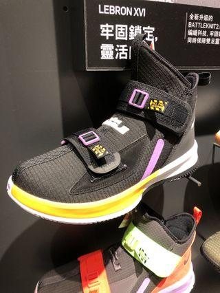 "100% 全新 Men's Nike LeBron Soldier ""Lakers"" US9"