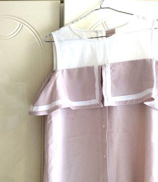 全新韓國KT5粉色連身裙