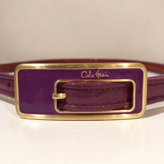 Cole Haan Leather Skinny Belt
