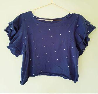 Dark blue five each shirt