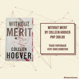 Without Merit by Collern Hoover