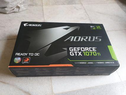 Aorus GeForce GTX 1070ti