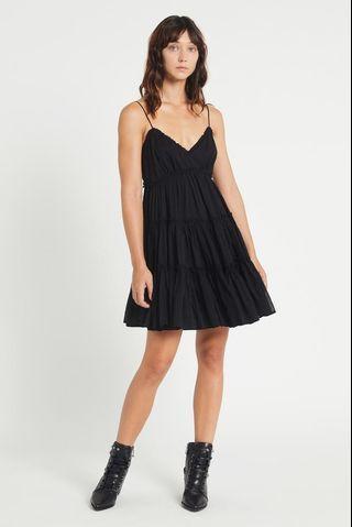 Aje Melrose Dress in Black - Size 10 RRP $245
