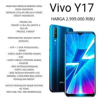 Vivo y17 4/128 gb