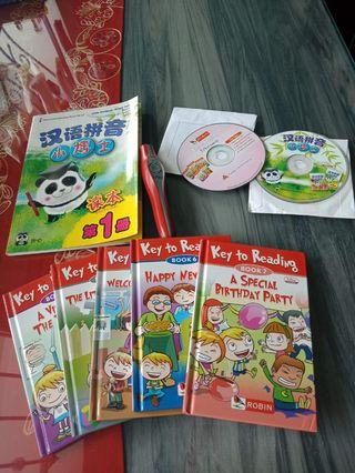 🚚 I-Pen Story Books Set