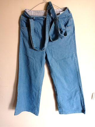 Overall jeans kullot import