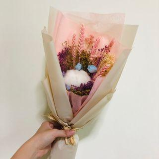 INSTOCK 🌸 Dried Flowers and Cotton Flower Bouquet