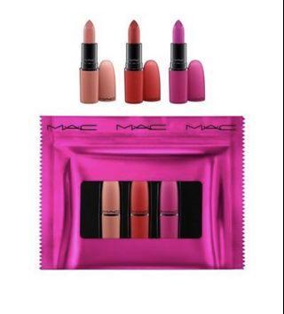 MAC Shiny Pretty Things - Lip Trio Kit