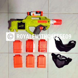 Nerf Limegreen Rayven bundle FREE IMR Batteries