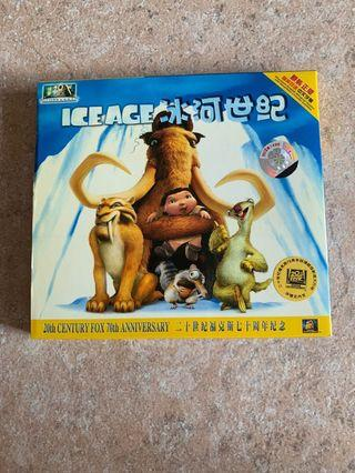 Ice age Movie VCD 2 disc