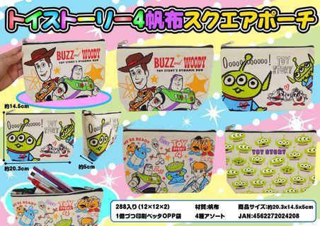 最新款Toy Story 4 筆袋/小物件袋~日本直送