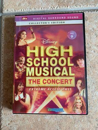 🚚 High school musical the concert dvd