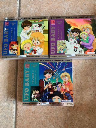 UFO baby Japanese Anime VCDs