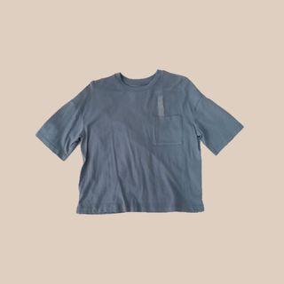 🚚 Uniqlo Dusty Blue Tee