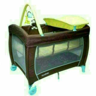 🚚 Goodbaby Travel Cot Playpen Diaper changing table