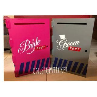 Rental: Wedding Ang Bao Box (Money Box)