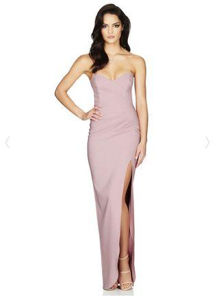 Nookie- Dusty Pink Bisous Gown