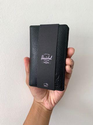 Herschel Frank leather RFID