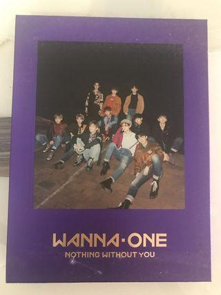 WANNA ONE Nothing Without You Wanna ver.