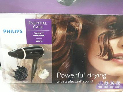 Philips Compact Hairdryer (1800w)