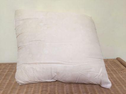 Cushion without cover