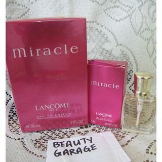 RARE CLEARANCE ! 30ml + 7ml LANCOME MIRACLE SET EDP Women perfume brand new sealed !