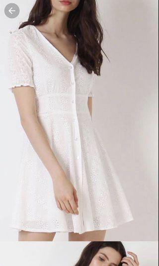 The Willow Label Lucia Eyelet Dress