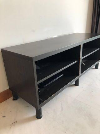 🚚 TV Stand - Brown wood