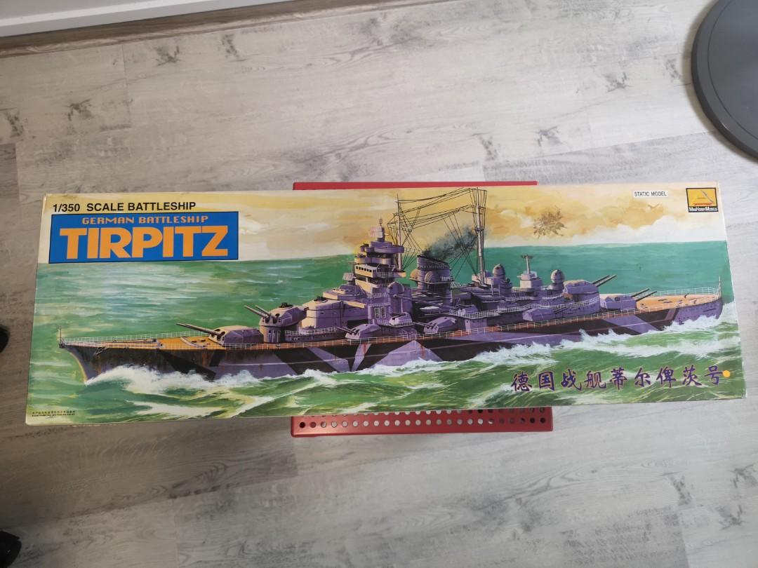 1/350 Scale Tirpitz Static Model