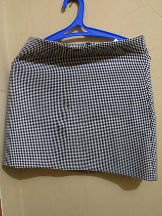 skirt zara woman made in spain