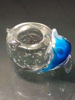 🚚 琉璃海豚蜡烛摆件 Liu Li dolphin 🐬 display