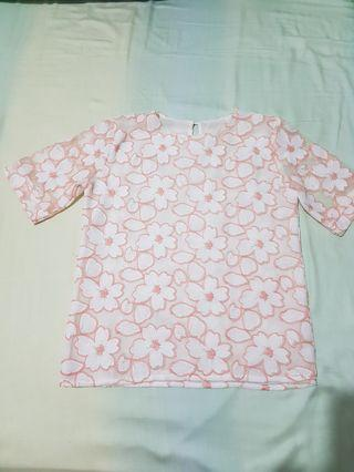 Flower Top with lace