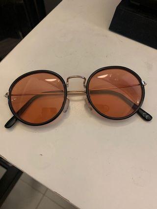 ASOS Orange tinted eyewear