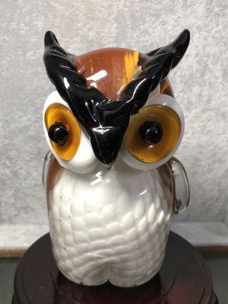 🚚 琉璃猫头鹰🦉摆件 Liu Li owl display