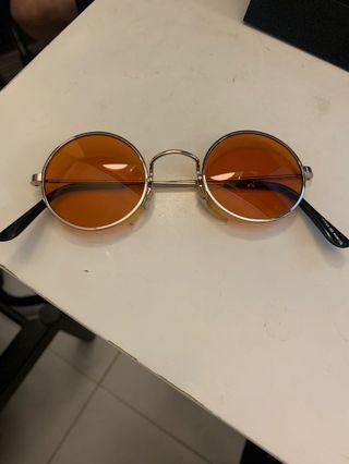 GIANT VINTAGE Sunglasses Eyewear Orange Tinted