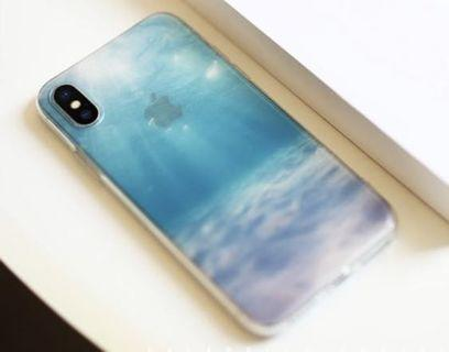 全新,半透明iPhone XSMax case 軟膠電話套
