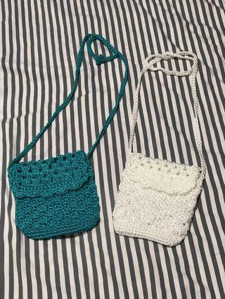 🚚 Mini Crochet Sling Bag