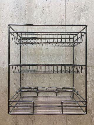 🚚 Stainless Steel Rack kitchen dishes