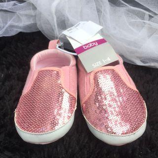 Kids & Co. Baby Pink Shoes/ Sepatu Anak Bayi #maugopay
