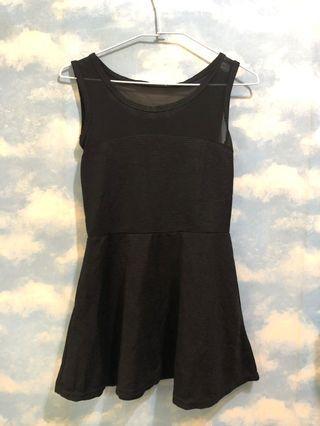 🔥特價出清🔥透紗短版小洋裝