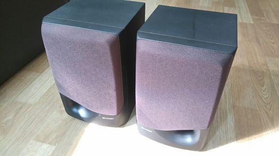 Sharp speakers system - 1 pair