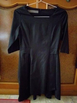 Zara Black Dress #maugopay