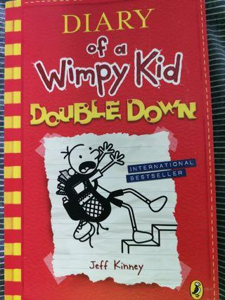 🚚 Diary of a wimpy kid-double down