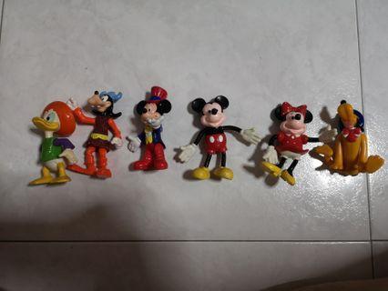 Vintage 90s Disney figurines