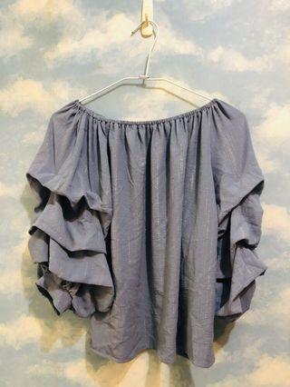 🔥特價出清🔥兩穿式紗質上衣