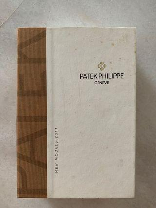 Patek Philippe catalog in a box (complete set)