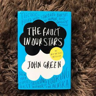 The Fault in Our Stars by John Green (hard cover - English)