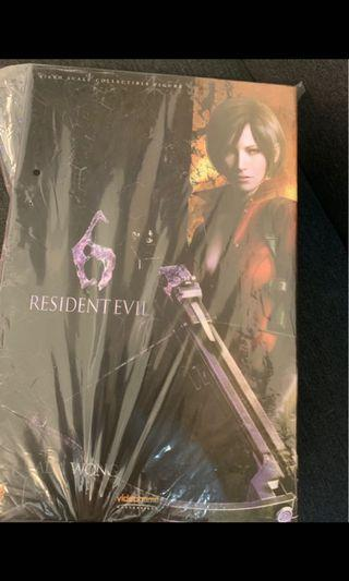 全新 圓貼 未開 Hottoys 1:6 Resident Evil 6 Ada Wong