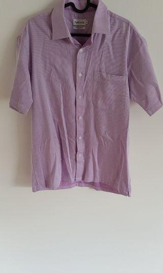 Men's Shirt with Purple Print